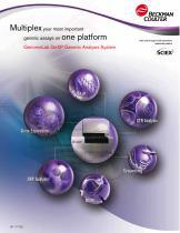 GenomeLab GeXP Genetic Analysis System Brochure