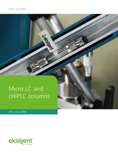 Micro LC and cHiPLC Columns