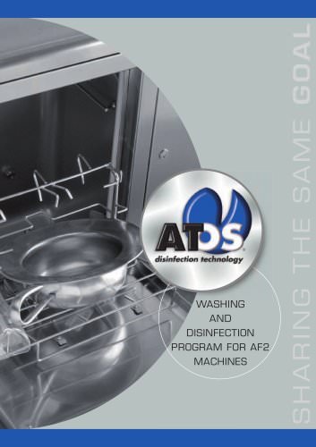 AT-OST WASHING AND DISINFECTION PROGRAM FOR AF2 MACHINES