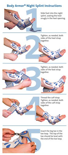 Body Armor® Night Splint Instructions