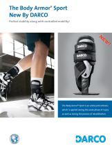 Body Armor® Sport Ankle Brace