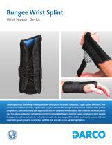 Bungee Wrist Splint Wrist Support Device