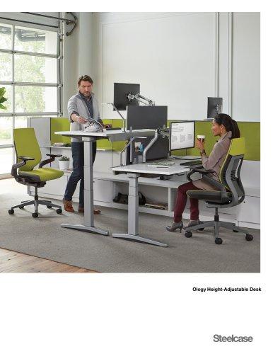 Ology Height-Adjustable Desk Brochure