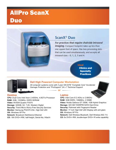 AllPro Scan X Duo