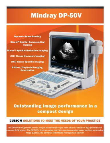 DP-50V Ultrasound