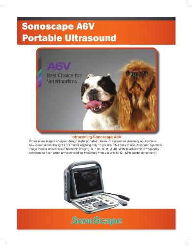Sonoscape A6V Ultrasound