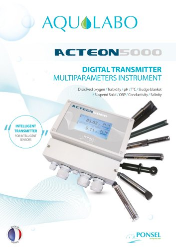 DIGITAL TRANSMITTER MULTIPARAMETERS INSTRUMENT