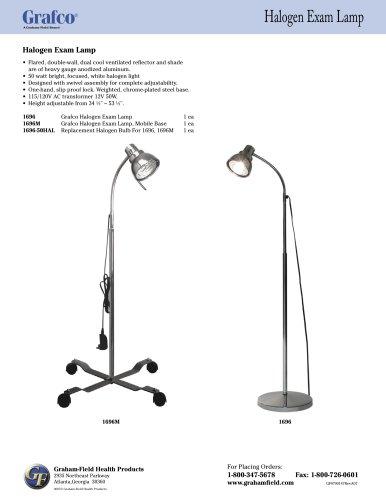 1696 Series Halogen Exam Lamps