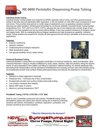 NE-9000 Peristaltic Dispensing Pump Tubing