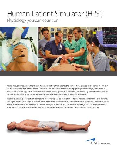 Human Patient Simulator (HPS ®)