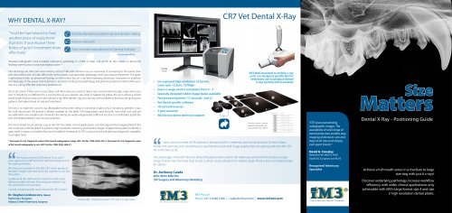 CR7 Vet Dental X-Ray
