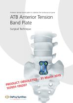 ATB Anterior Tension Band Plate - 1