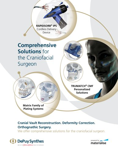 Comprehensive Solutions for the Craniofacial Surgeon