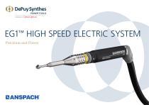 EG1 ™  HIGH SPEED ELECTRIC SYSTEM - 1