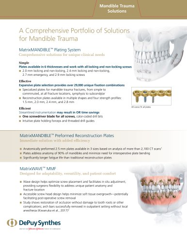 Mandible Trauma Solutions
