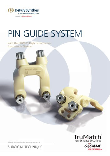 TruMatch Pin Guides