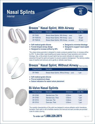 Nasal Septal Buttons