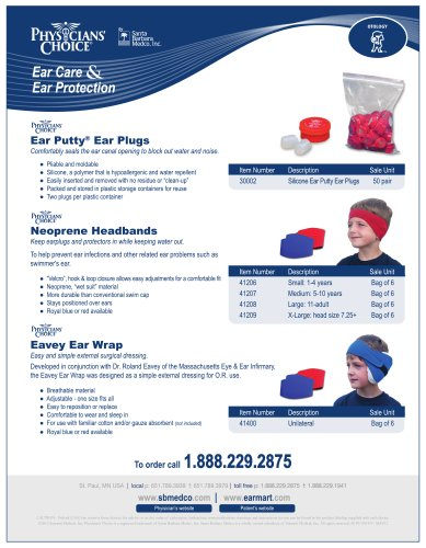 Silicone Ear Putty® Ear Plugs