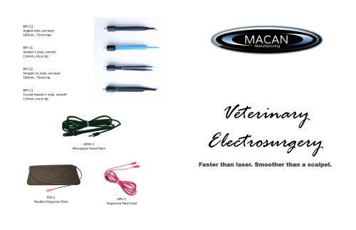 Veterinary  Electrosurgery