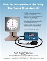 The Baum Desk Aneroid - 1