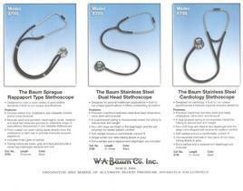Baum Stethoscopes - 1