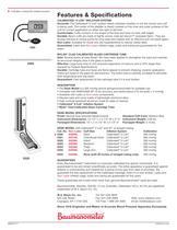 Desk Model Data Sheet - 2