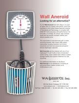 Wall Aneroid Data Sheet - 1