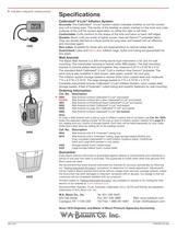 Wall Aneroid Data Sheet - 2