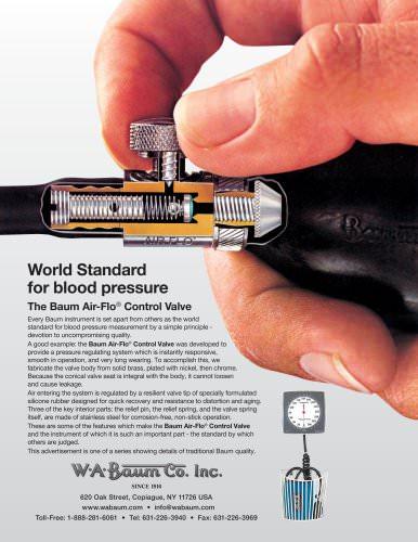 World Standard for blood pressure