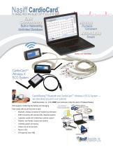 Nasiff CardioCard® PC Based Resting ECG System Wireless X