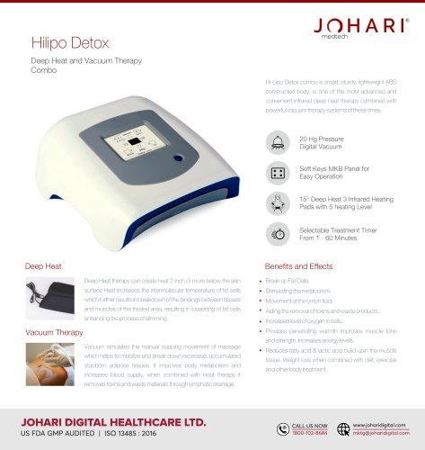 Hilipo Detox - Deep Heat and Vacuum Combo