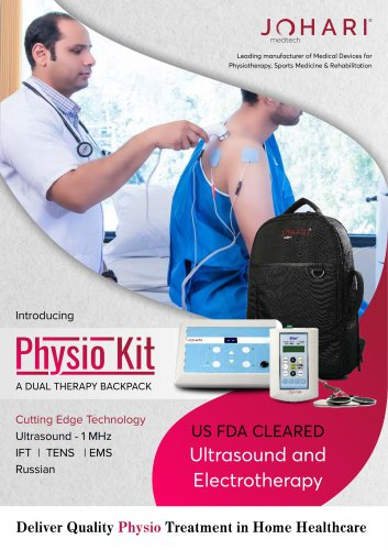 Physio Kit - Electrotherapy and Ultrasound Kit for Home Visit