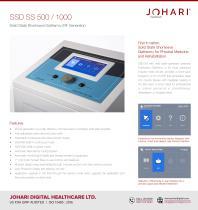 SSD 500 SS - Shortwave Diathermy