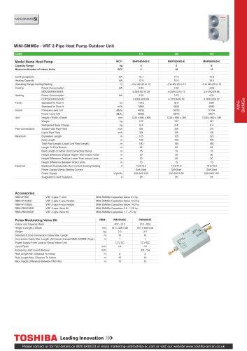 MiNi SMMSe VRF Heat Pump System
