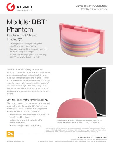 Modular DBT™ Phantom