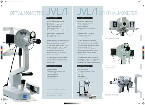 JVL/1 ophthalmometer