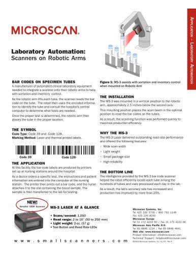 MS-3: Laboratory Automation