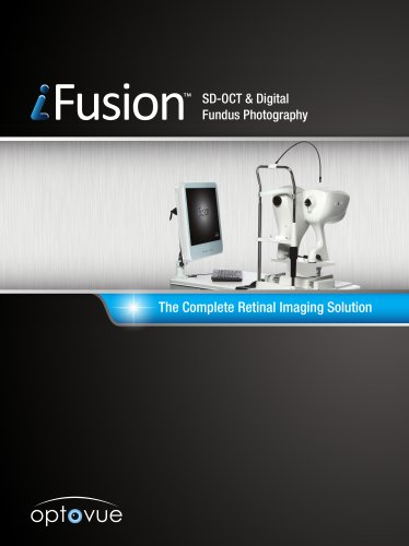 The Complete Retinal Imaging Solution iFusion