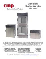 Blanket and Solution Warming Cabinets