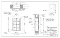 Stainless Steel  Pass - Through Cabinets - 4