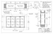 Stainless Steel  Pass - Through Cabinets - 5
