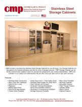 Stainless Steel Storage Cabinets - 1