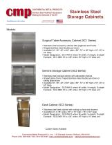 Stainless Steel Storage Cabinets - 2