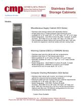 Stainless Steel Storage Cabinets - 3