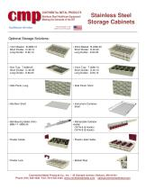 Stainless Steel Storage Cabinets - 6