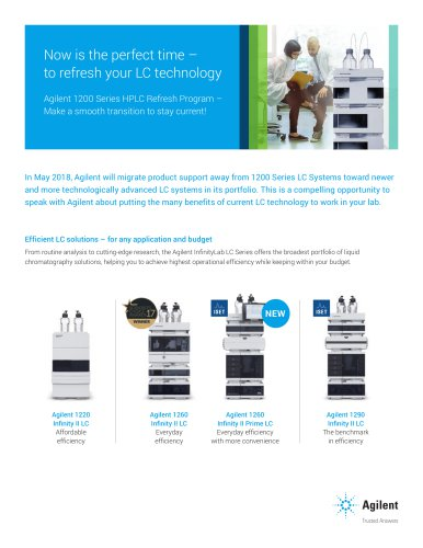 Agilent 1200 Series HPLC Refresh Program –