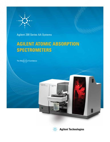 Agilent 200 Series Atomic Absorption Spectrometers