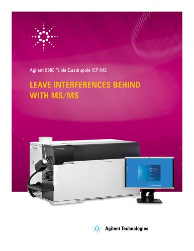 Agilent 8900 Triple Quadrupole ICP-MS