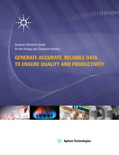Agilent Analyzer Solutions Guide for the Energy and Chemical Industry