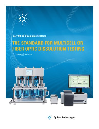 Cary 60 UV Dissolution Brochure